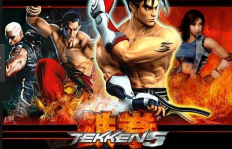 Tekken 5 For Android APK + ISO Free Download PPSSPP